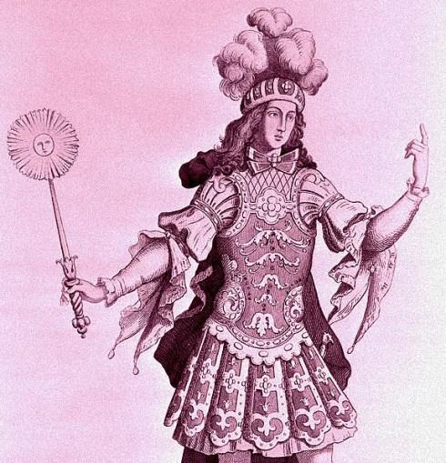 Sun King Ballet Costumer 1660s