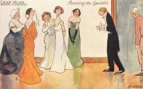 Leap Year Gauntlet Tuck 1911-12