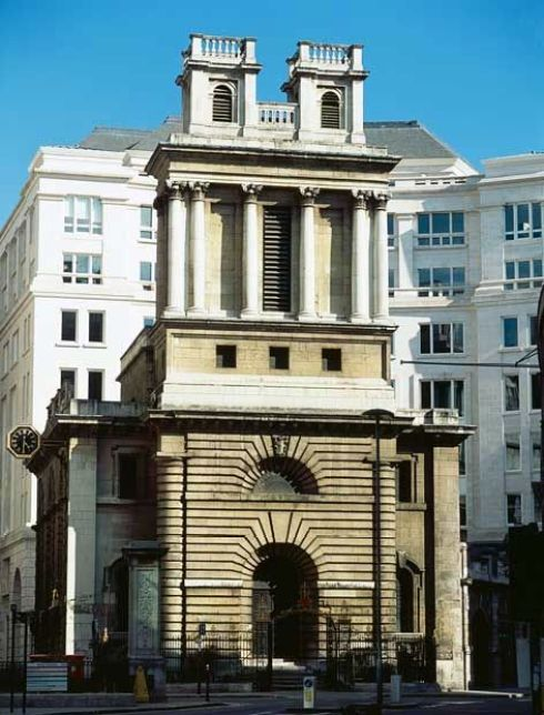 Hawksmoor St Mary Woolnoth City
