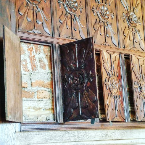 Sutton House paneling