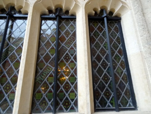 Tudor Texture windows