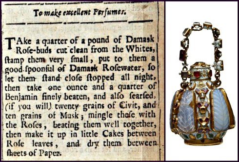 Elizabethan Perfume Collage