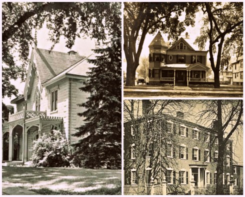 Lafayette Houses Collage