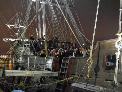 Newburyport Galleon Night