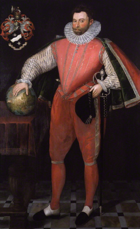 NPG 4032; Sir Francis Drake by Unknown artist