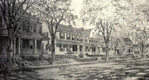 Urban VillageWestinghouse Village Philadelphia 1919 Clarence Wilson Brazer arch