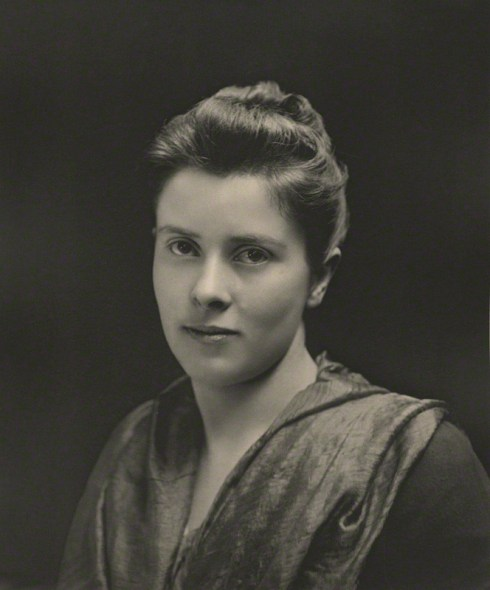 NPG Ax36327; Mary Chamberlain (nÈe Endicott) by Eveleen Myers (nÈe Tennant)