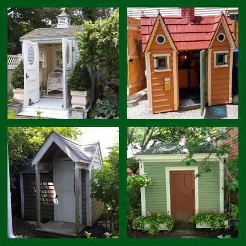 Garden Tour Sheds