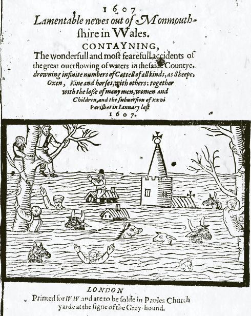 Flood 1607 Anon-1607_Lamentable_newes_out_of_Monmouthshire-STC-18021-722_05-p1