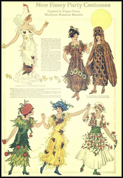 Fancy Party Costumes LHJ Nov 1914