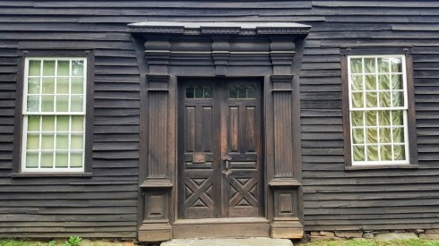 Flat-top Allen doors