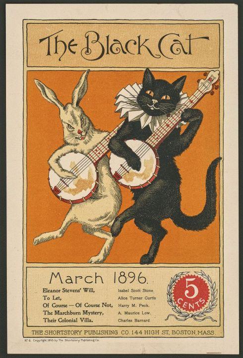 March Black Cat