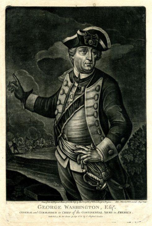 Rebel officers Washington