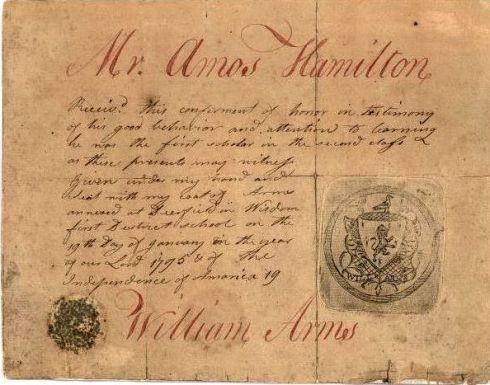 Reward of Merit 18th century