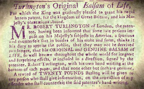Waldo Turlington's Balsam text
