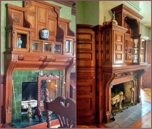 EUSTIS FIREPLACES collage