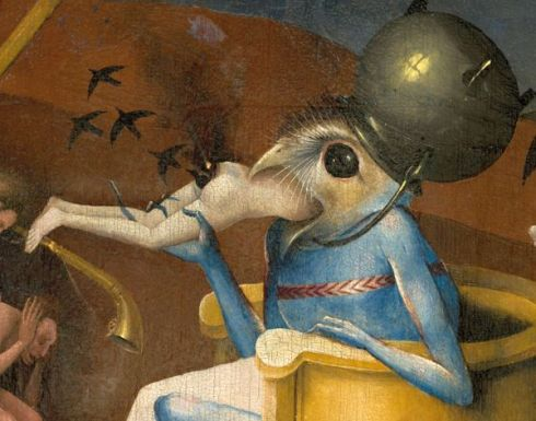 bosch_hieronymus_-_the_garden_of_earthly_delights_right_panel_-_detail_bird-headed_monster_or_the_prince_of_hell_-_close-up_head_lower_right