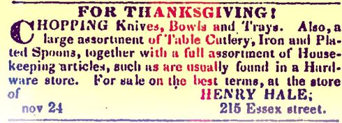 Thanksgiving Salem_Register_1851-11-24_3