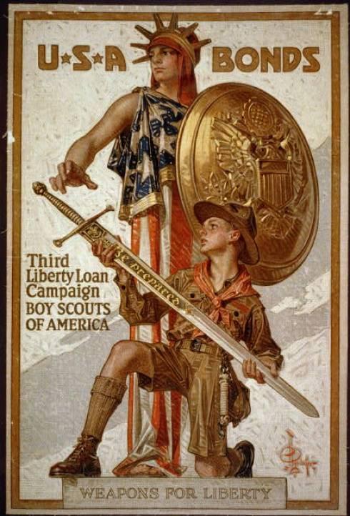 World War Boy Scouts