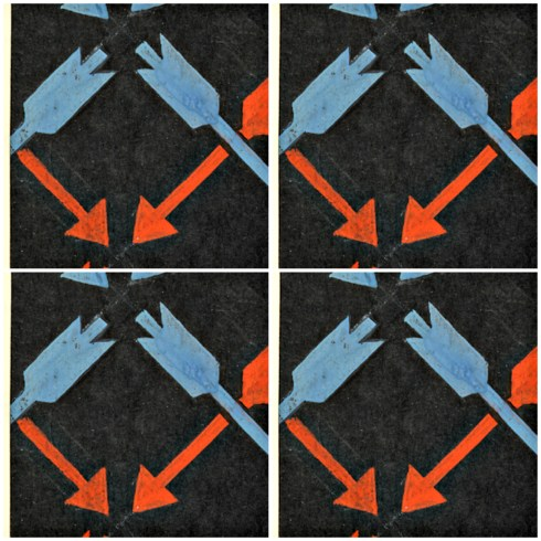 arrows collage