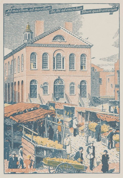 ruzicka market house carnegie