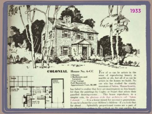 Salem Colonial 1933