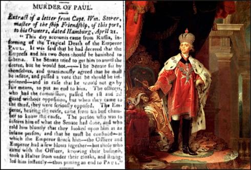 Friendship Paul 1801