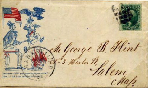 Civil War Envelope 2