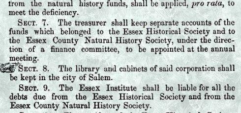 Essex Institute Incorporation