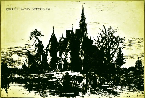 House of Usher Robert Swain Gifford 1884