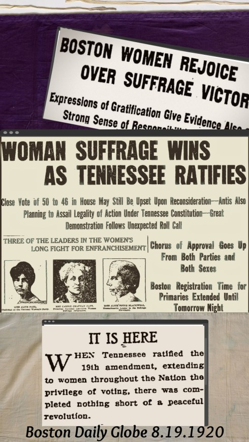 Suffrage BDG Collage