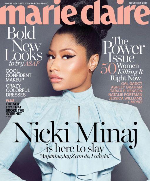 Nicki Minaj Calls Nudity Double Standard For Black Vs. White Women