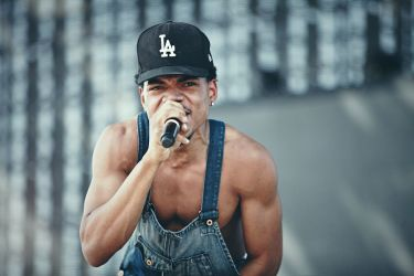 Chance The Rapper Body Slams Stage Crasher