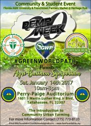 [Event] Agri-Business Symposium - Jan 14th @ Demp Week
