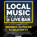 [Event] #Jacksonville, FL Local Music Wednesdays at @livebarjax | @MrMinceProInc @MrMince94 @SelectahCy