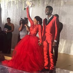 Gucci Mane and Keyshia Ka'Oir's Platinum Wedding Day