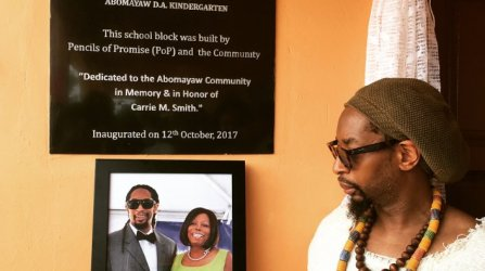 Lil Jon Opens Primary School in Ghana