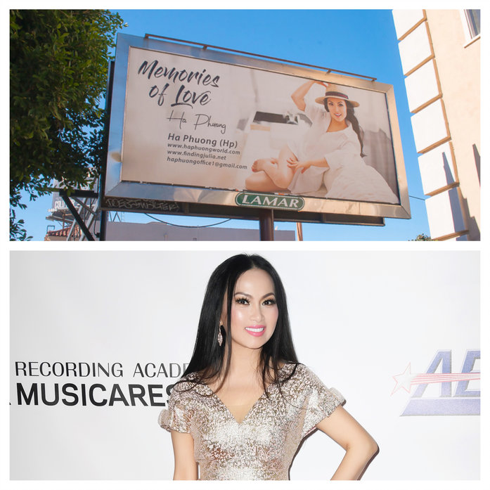 Who's That Girl on those Billboard Around L.A.?