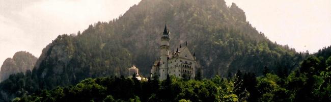 Neuschwanstein Castle, by Street Talk Savvy as found in German Slang Phrases