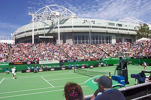 Margaret Court Arena at the Australian Open. R...