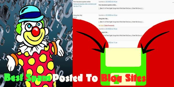 Best Spam Posted to Blog Sites as found in Street Talk Savvy