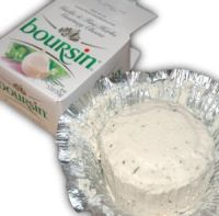 Boursin - French cheese, this picture was made...