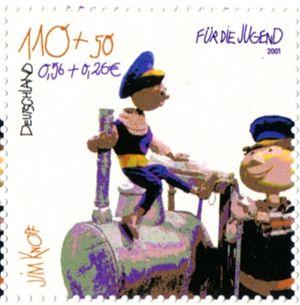 Jim Knopf und Lukas der Lokomotivführer, Brief...
