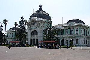 Train Station, Maputo, Mozambique. Français : ...