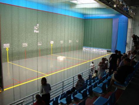 French Pelote court, basque de Pau, frontenis, (Championnat d France 2010, Femmes B. (Photo credit: Wikipedia)