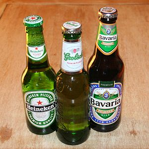 Heineken, Grolsch and Bavaria are the three ma...