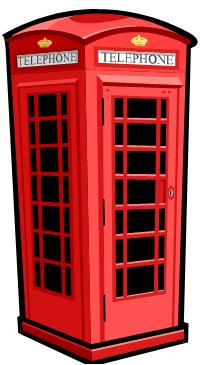 English Telephone Box