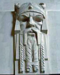 Sweyn Forkbeard, from an architectural element...
