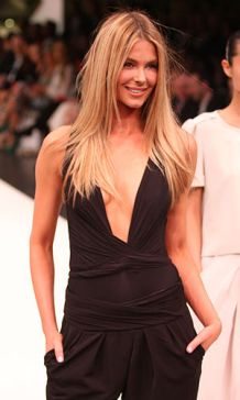 English: Jennifer Hawkins at the Myer Spring S...