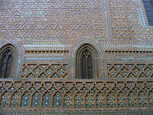 Français : Architecture mudejar, Cathédrale de...